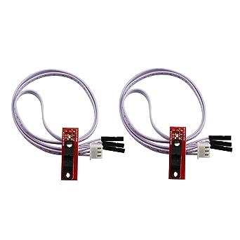 Tegg - Interruptor de límite de luz óptica con 3 pines para ...