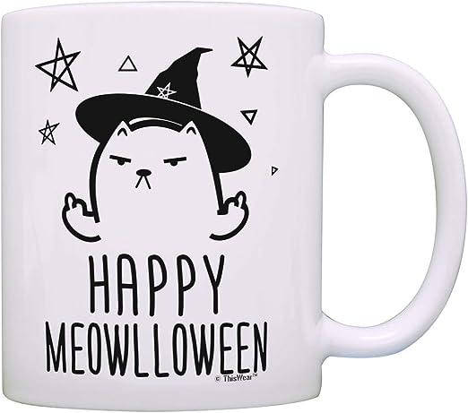 15oz I Do What I Want Funny Coffee Tea Mug Cat Middle Finger Funny Gift 11oz