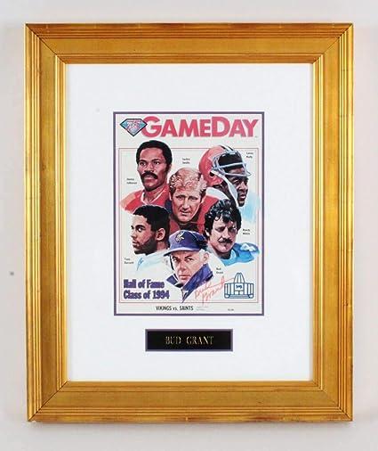 a07cdb705 Bud Grant Signed Magazine Display - COA - JSA Certified - Autographed NFL  Magazines