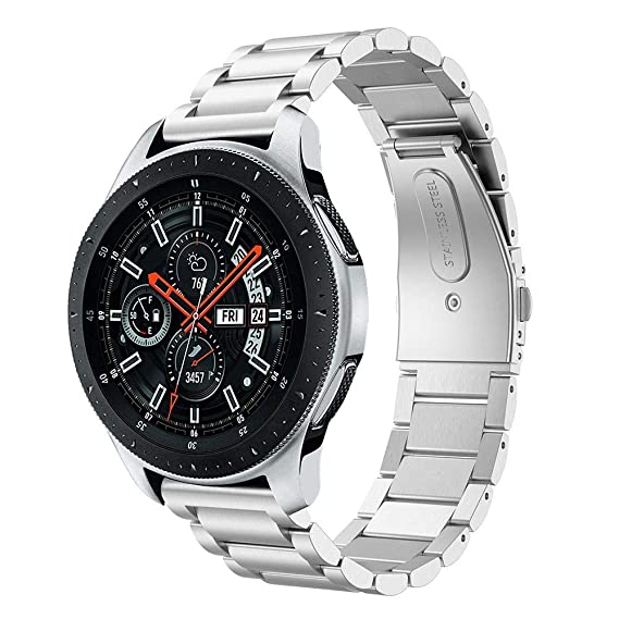 Cell Phones & Accessories United Luxury Stainless Steel Strap Band 22mm For Samsung Galaxy Watch Sm-r800 46mm Us Buy Now