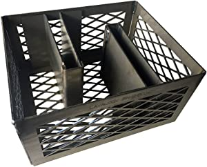 LavaLock® Minion Method Charcoal Basket w/ 2 Maze Bars 12 x 10 x 6