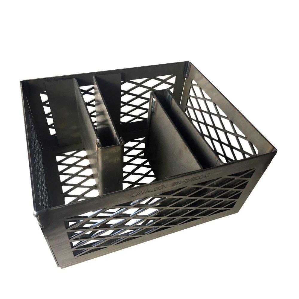 LavaLock Minion Method Charcoal Basket w/ 2 Maze Bars 12 x 10 x 6 by LavaLock® (Image #1)