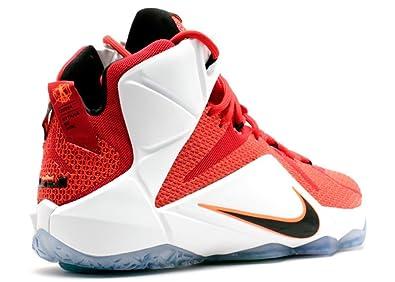 best authentic 8015c 0fb17 ... Amazon.com NIKE Lebron XII Heart Of A Lion Men s Shoes University Red  Black ...