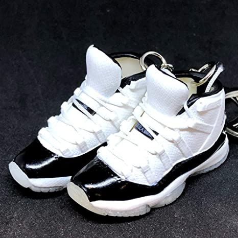 the latest 803eb 05378 Amazon.com: Pair Air Jordan XI 11 High Retro Concord Black ...