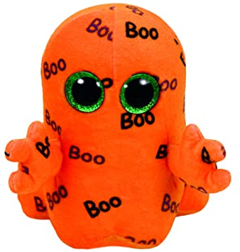 Ty Inc.Toys - Beanie Boos Ghoulie Regular Fantasma, Color Naranja (Legler 37192TY