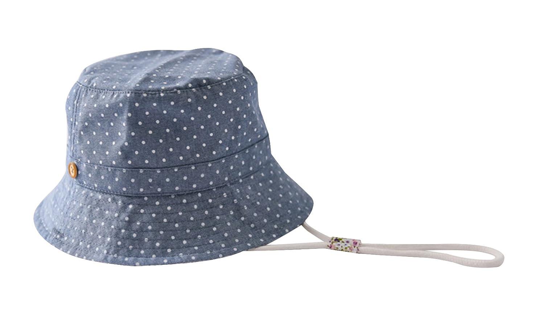 La Vogue Bob Pêche Soleil Coton Chapeau Anti-UV Bébé Enfant Outdoor Été  Bleu  Amazon.fr  Vêtements et accessoires d83b2949f0e