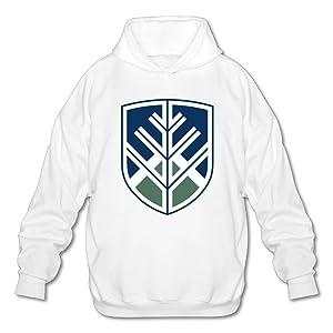 Northern Arizona University Hoody Pullover Sweatshirt Men Shirt White XX-Large