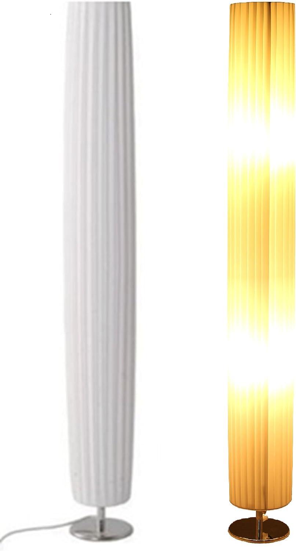 Trango Design Plissee Stehleuchte Tghp 120r Stehlampe Wohnzimmer