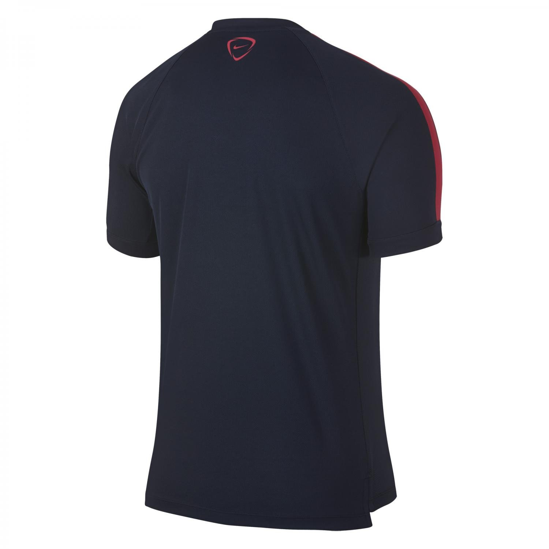 Nike Herren kurzärmliges Shirt Flash ObsidianFuchsia Force