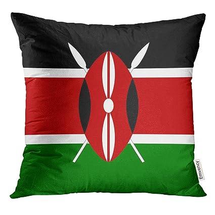 Amazon Com Golee Throw Pillow Cover Kenyan Original And Simple