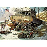 Buffalo Games 2631-Charles Wysocki-Where The Buoys Are-300 Large Piece Jigsaw Puzzle