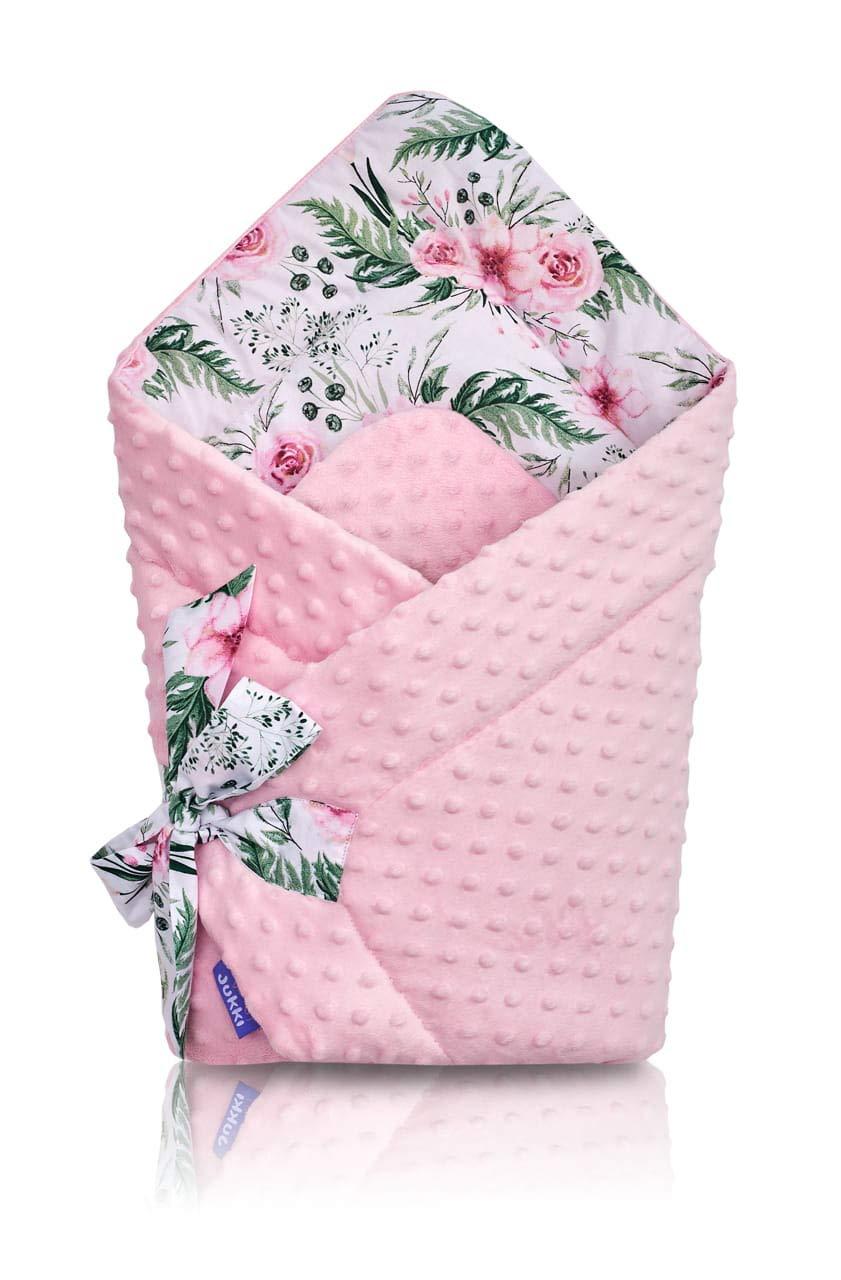 Baby Swaddle WRAP Newborn Infant Bedding Blanket Cotton Sleeping Bag Cotton WRAP Big White Stars on Grey Background
