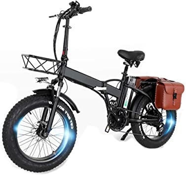 CMACEWHEEL GW20 750W 20 Pulgadas Bicicleta eléctrica Plegable ...