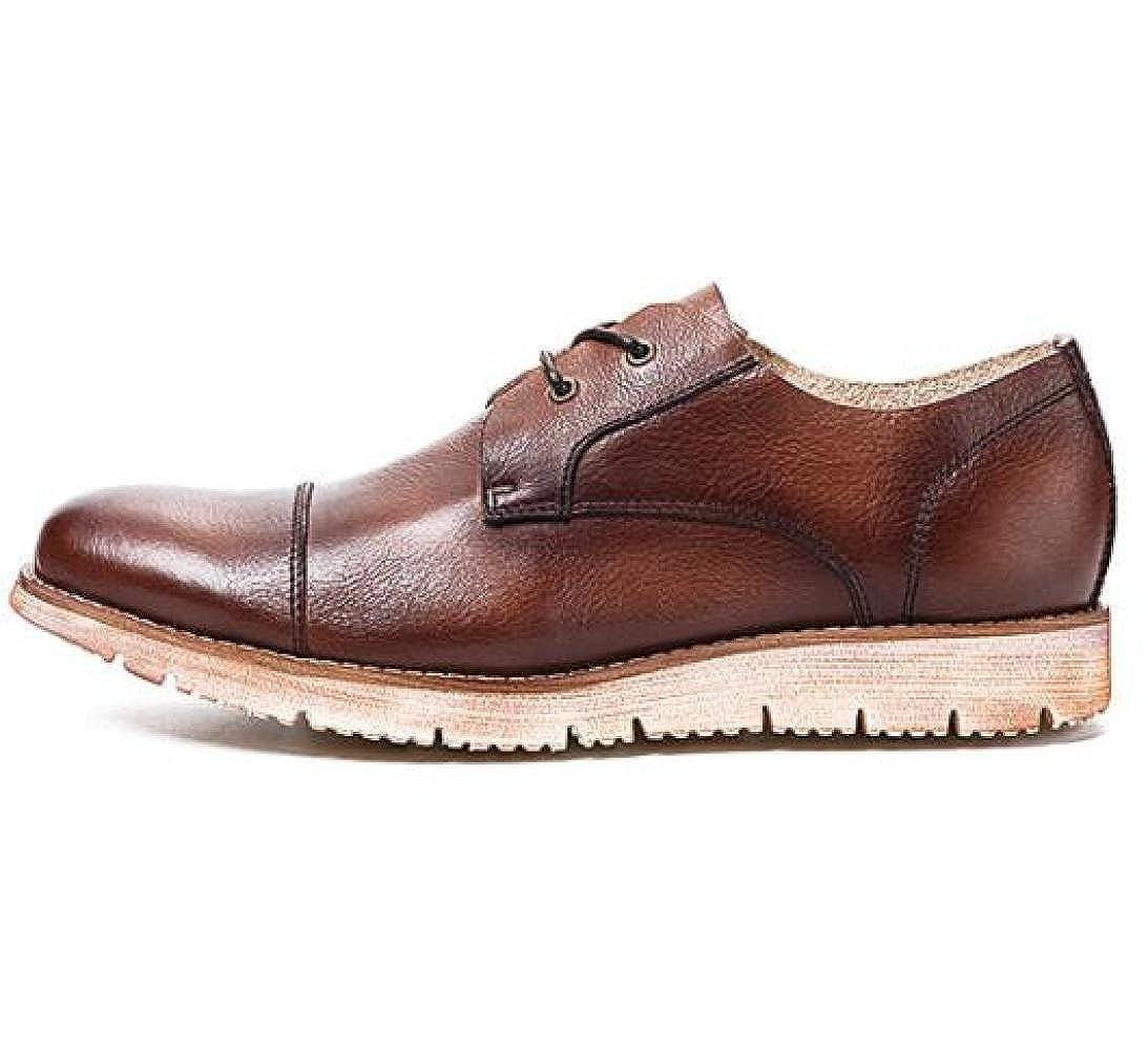 GTYMFH Herrenschuhe Schnürschuhe Lederschuhe Atmungsaktive Lässige Lederschuhe Vintage Herren Lederschuhe Schnürschuhe 6d4635