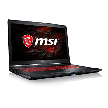 Msi Gl72m 7rex 1225uk 17 3 Inch Gaming Laptop Black Intel Core