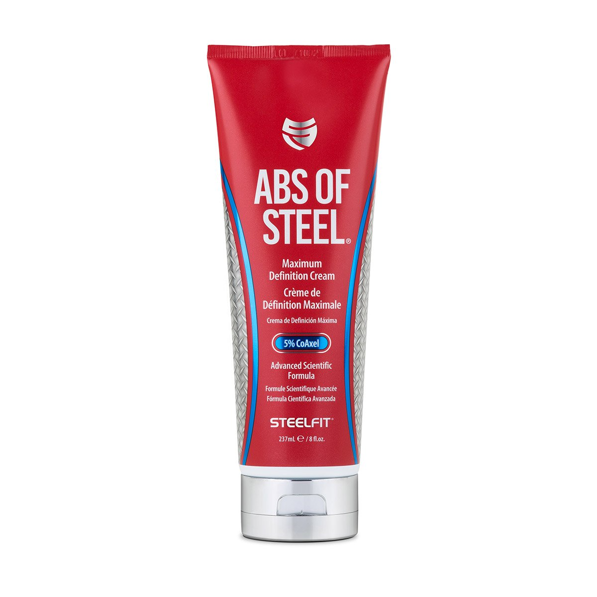 SteelFit Abs of Steel Maximum Definition Cream with 5% Coaxel, 8 fl oz (237ml). Performance Brands Inc. 732907051471