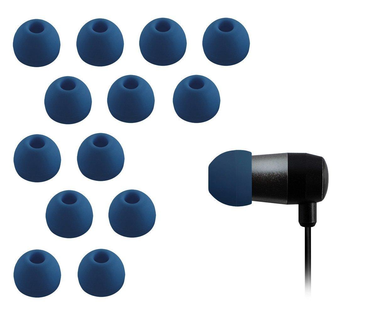 Auriculares de Repuesto, Hechos de Silicona, Marca XcessorCompatible con la mayoría de Marcas de Auriculares.7 Pares (14 Unidades).Tamaño:pequeño.