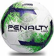 Bola de Futebol Society, PENALTY, Lider XXI, Branca, Roxa e Verde, Único