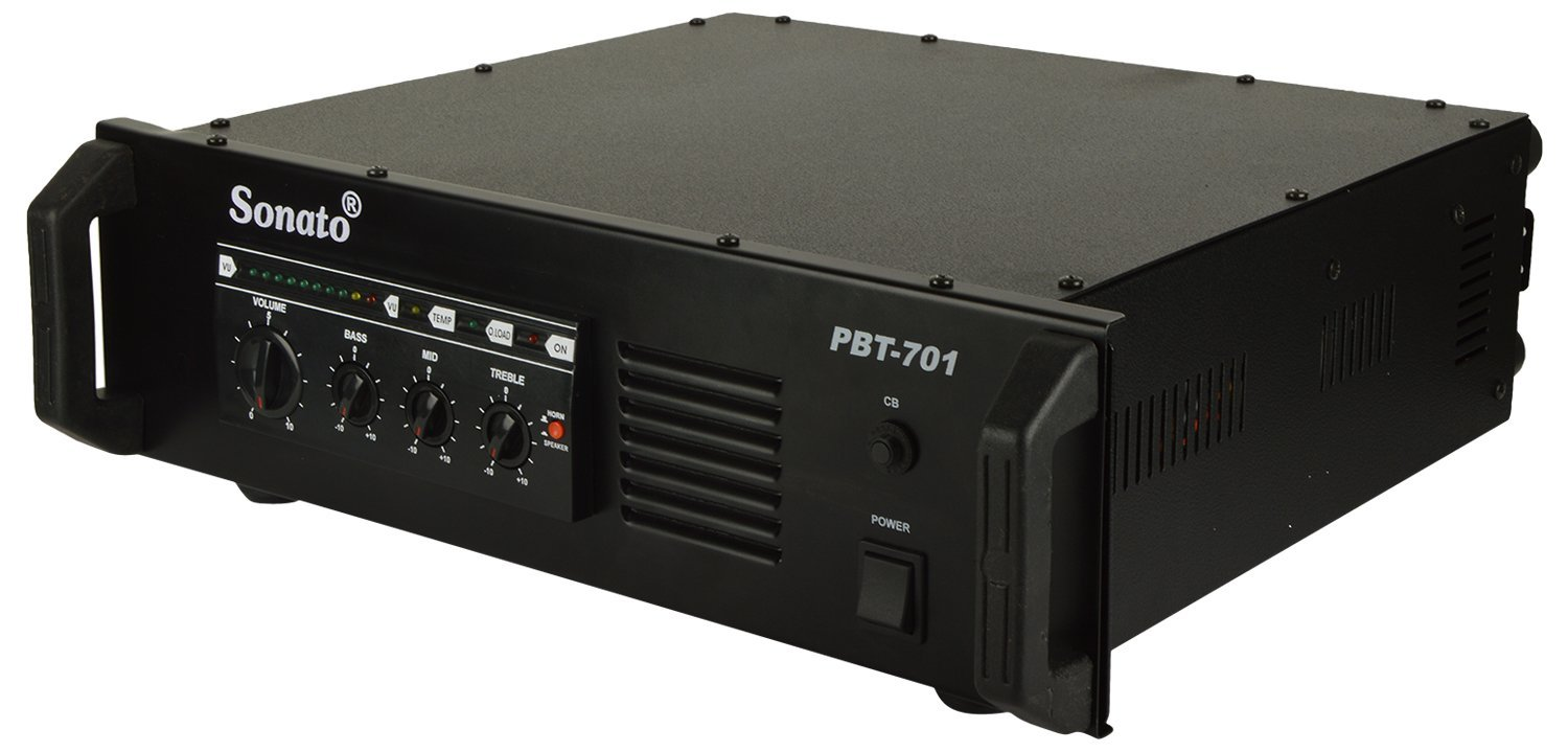 Sonato Pbt 701 Booster Pa Amplifier Electronics Chargecompensatedsampleandhold Amplifiercircuit Circuit