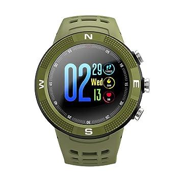 F18 1.3 Smartwatch IP68 Deportes a prueba de agua Bluetooth 4.2 Reloj inteligente de fitness