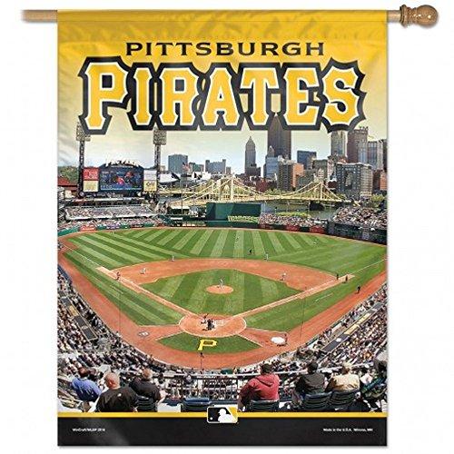 Wincraft Pittsburgh Pirates Stadium Vertical Flag 27