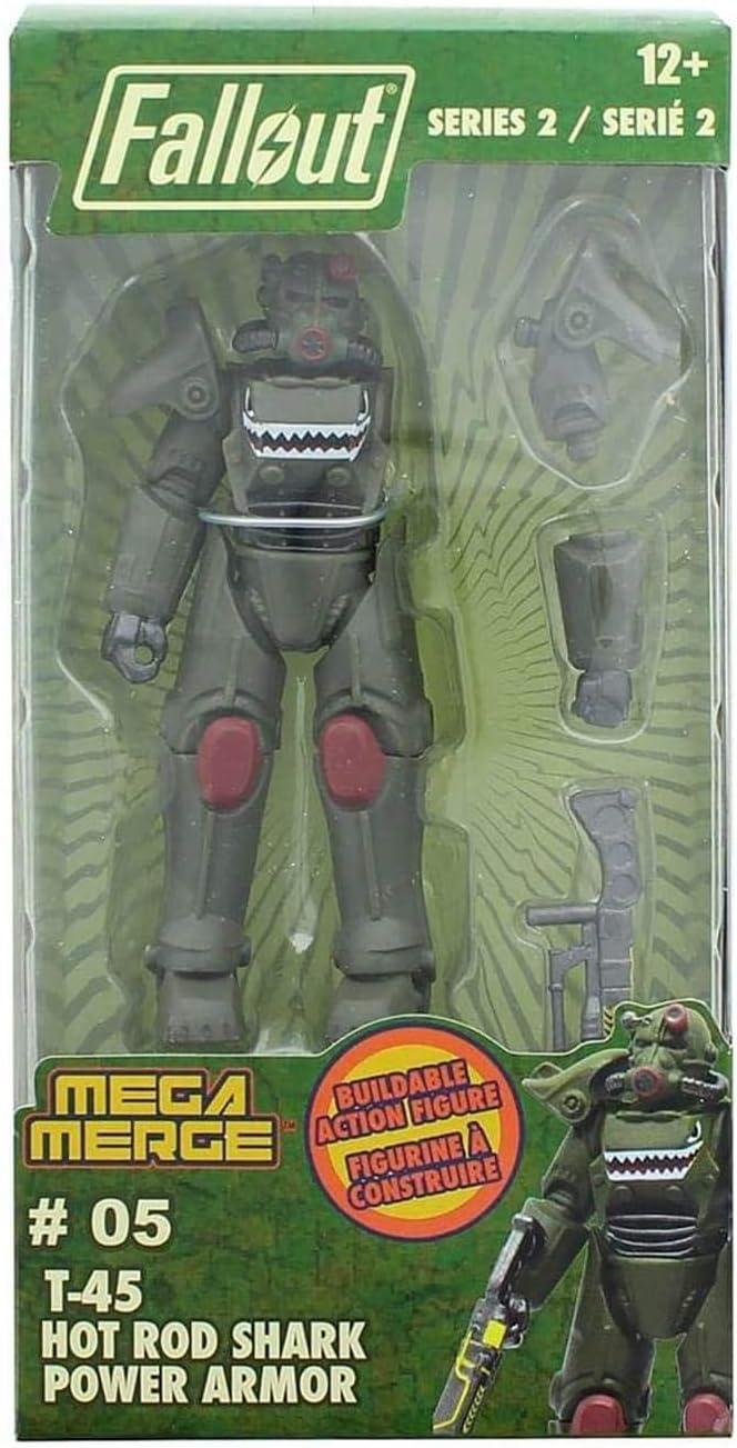 Fallout Mega Merge Series 2 - T-45 Hot Rod Shark Power Armor