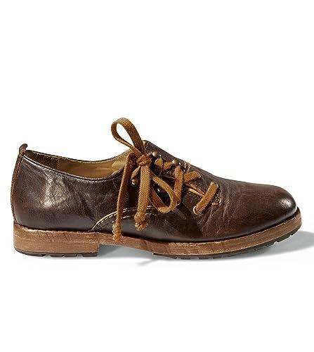 Stockerpoint 6060maron - Zapatos de cordones de Ante para hombre Marrón Maron, color Marrón, talla 42