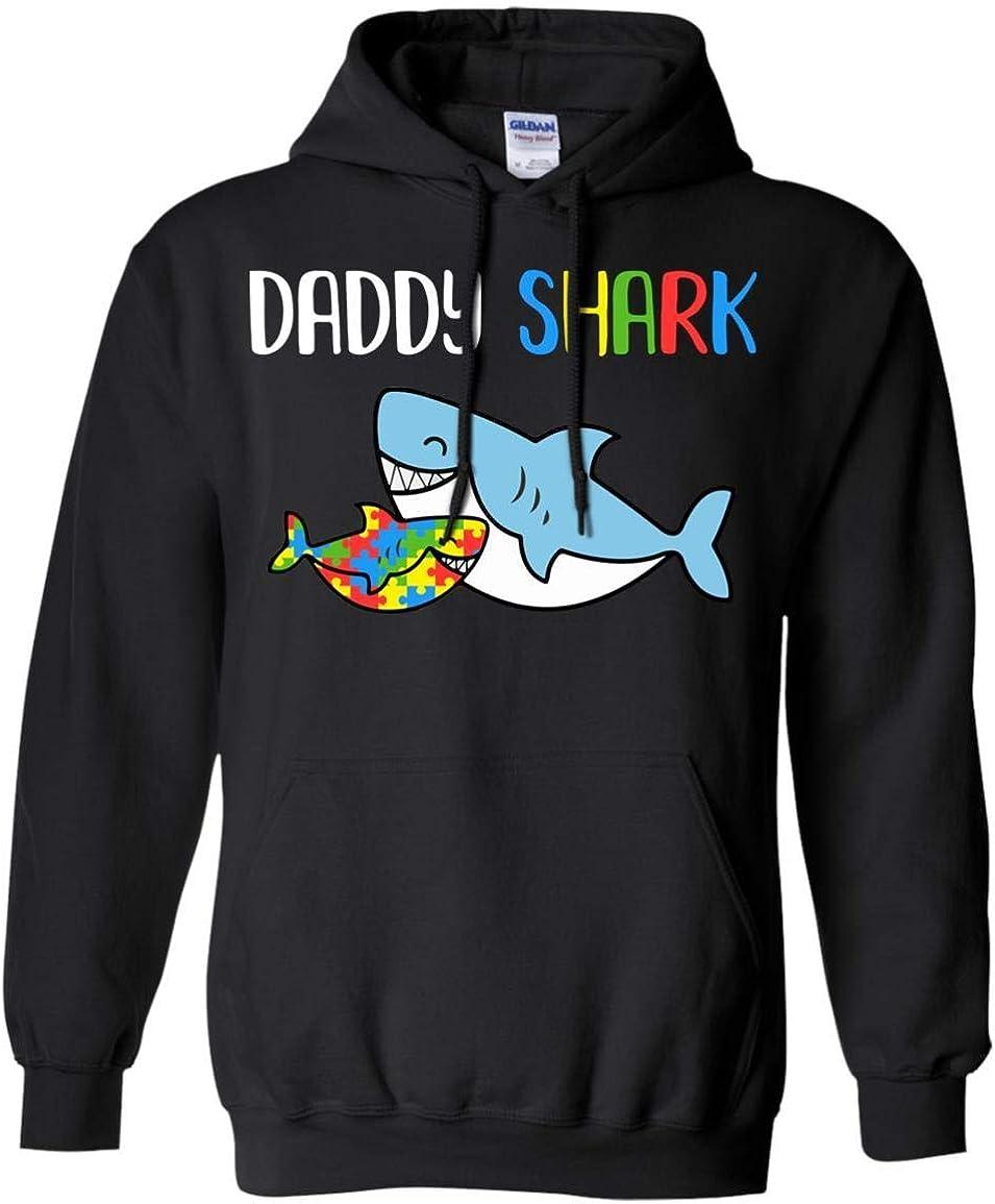 TeesPass Daddy Shark Support Autism Awareness for Child Shirt Hoodie