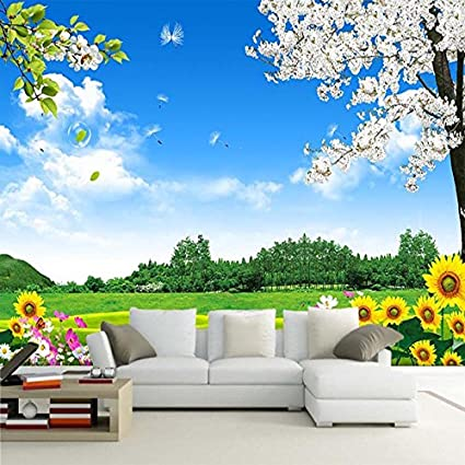 Lwcx Custom Mural 3d Wallpaper Nature Scenery Wall Painting Photo