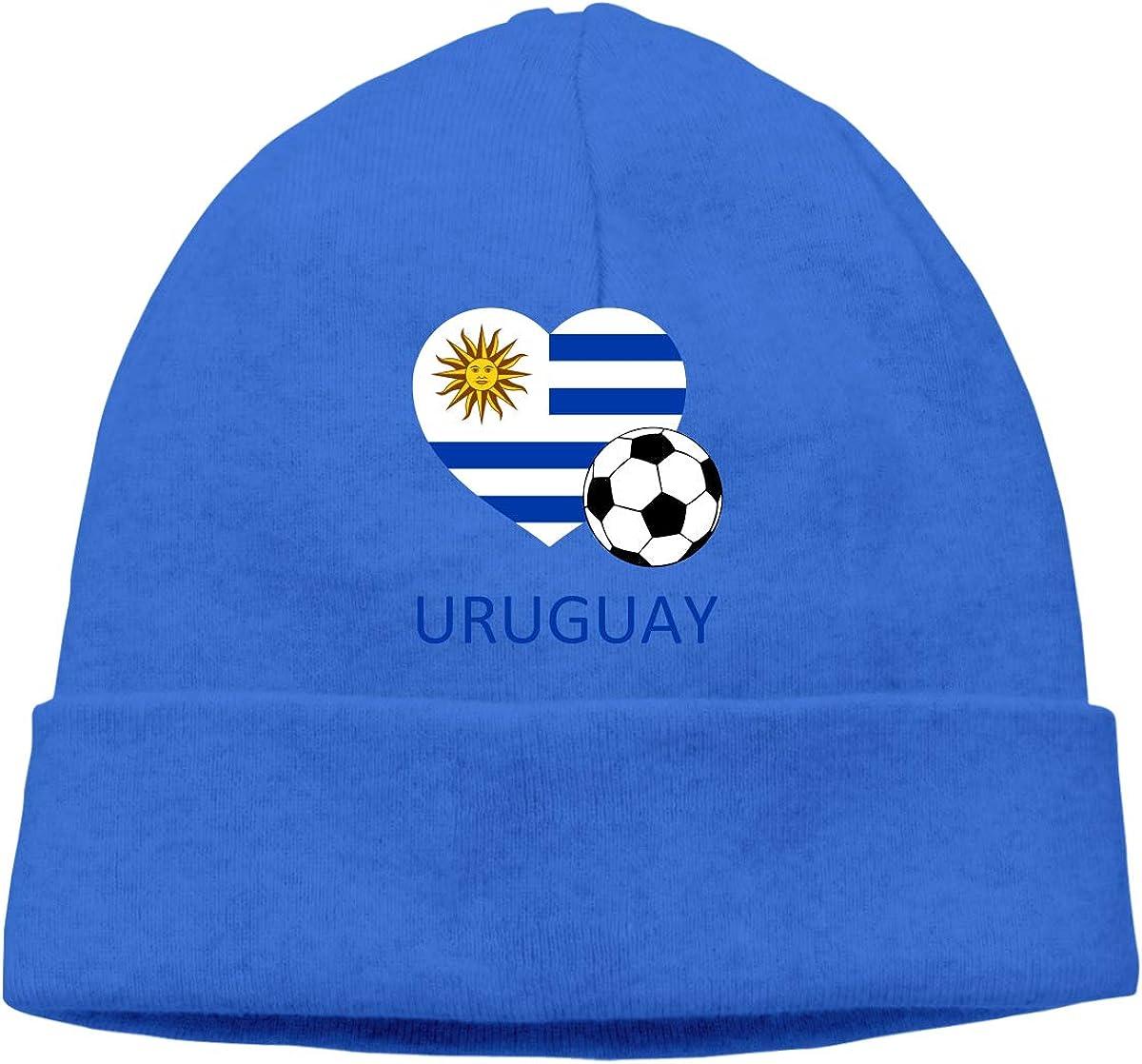 Beanie Hat Love Uruguay Soccer Warm Skull Caps for Men and Women