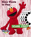 ViewMaster - Sesame Street - Elmo's Wants to Play - 3 Reels on Card - NEW by 3Dstereo ViewMaster