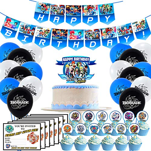 Which are the best beyblade burst party supplies decorations available in 2020?
