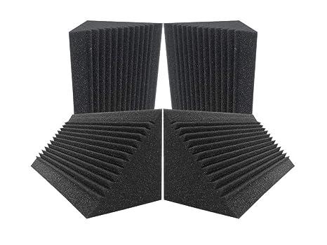 Acepunch 4 Tratamiento de aislamiento acústico de espuma acústica con trampa de graves de esquina multi