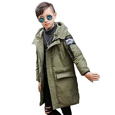 Kidslove Junge Daunenjacke kinder Winterjacke mit Kaputze