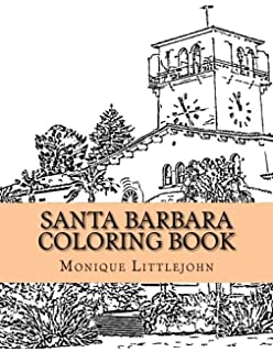 santa barbara coloring book