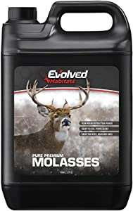 Evolved Habitats Premium Wildlife Molasses, 1 Gallon - Premium Deer Attractant, Brown
