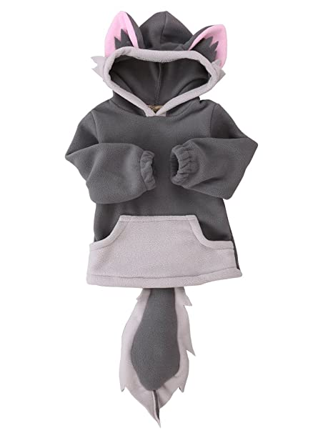 d41bada28fee Amazon.com  Baby Kids Boys Girls Cute Fox Cloak Hooded Outfits ...