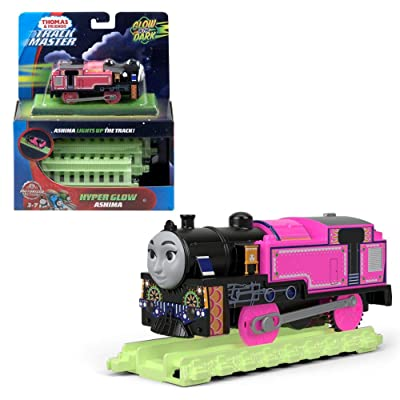 Thomas & Friends Fisher-Price TrackMaster, Motorized Hyper Glow Ashima: Toys & Games