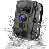 Trail Camera 1080P 12MP, VICTONY Game Camera with Motion Activated Night Vision, 120° Wide Angle Lens, IP65 Waterproof Wildlife Scouting Hunting Camera