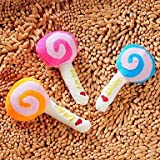 Pet Plush Toys Sound Lollipop for Dogs (Random Colors) , Puppy Pet Chew Playing Accessory Product