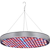 LED Grow Light Bulb Panel 50W UFO Plant Growing Lamp with 250 LEDs Red Blue UV IR Full Spectrum Growing Lights for Indoor Plants, Seed Starting, Seedling, Veg and Flower by Emasun