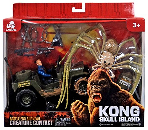 Kong Skull Island Battle for Survival Creature Contact Spider (King Kong Toy)