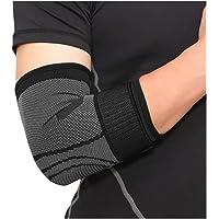 Codo Brace-Ajustable Compresión Soporte Brazo Estabilizador de codo para hombres y mujeres. Soporte para tendonitis, Codo de tenista, Codo de golfistas, Recuperación de lesiones, Levantamiento de pesas