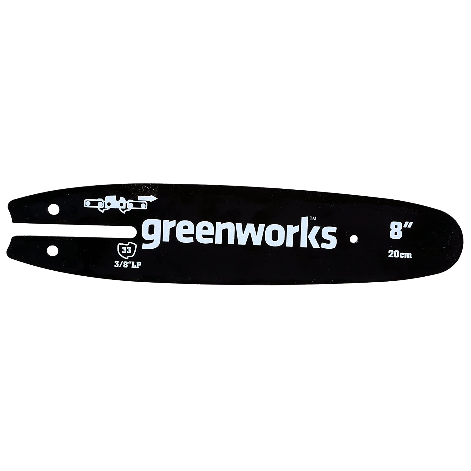 Greenworks 8-Inch Replacement Pole Saw Bar 29062