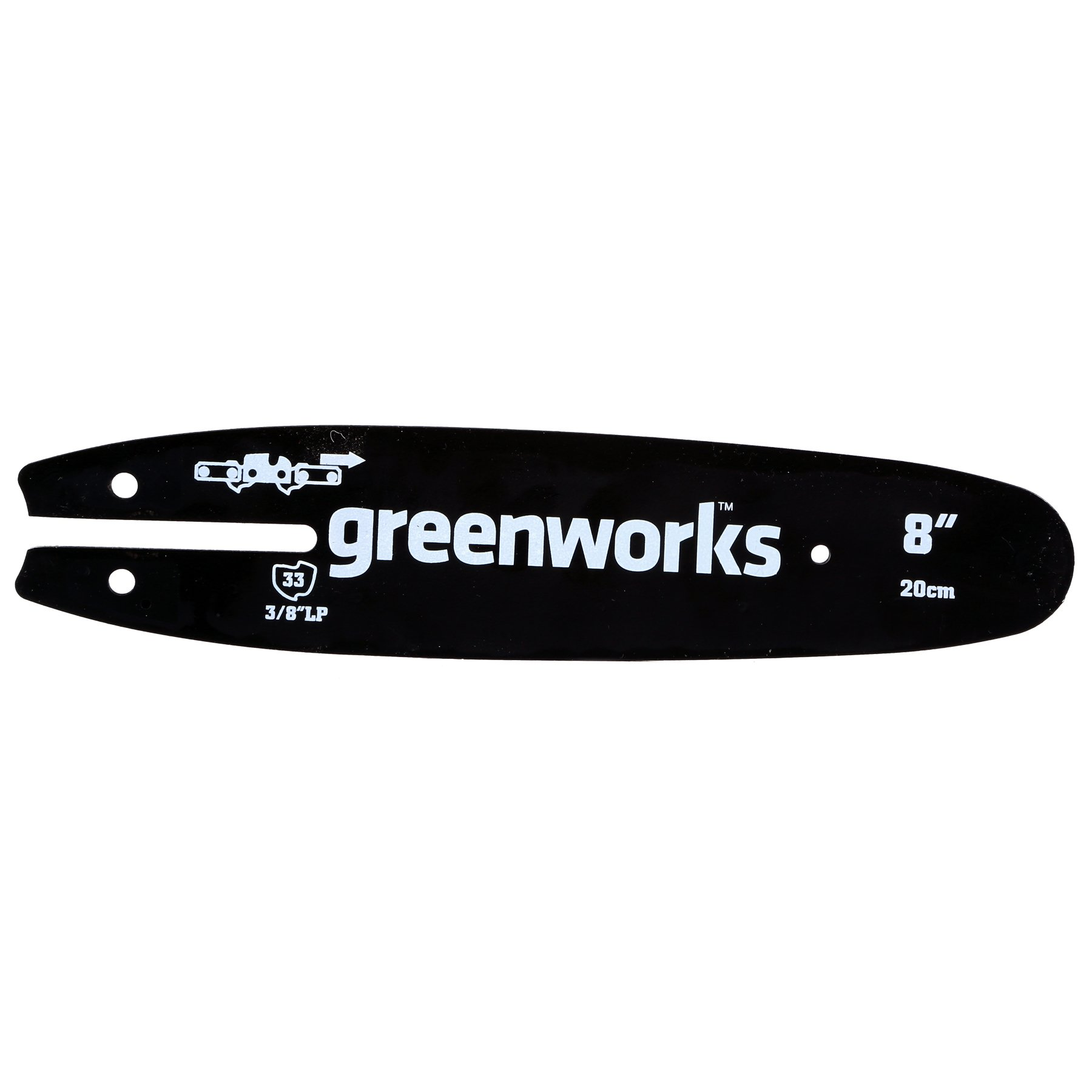 Greenworks 8-Inch Replacement Pole Saw Bar 29062 by Greenworks