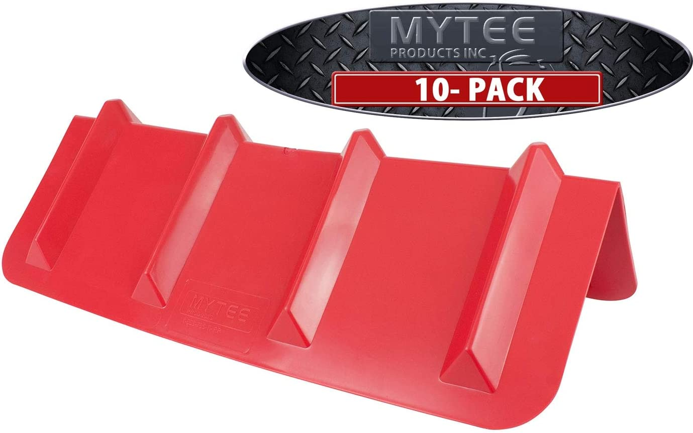 "(10 Pack) rot Corner Protector Vee Shaped Edge Guard 8"" X 8"" X 24"" Inches"