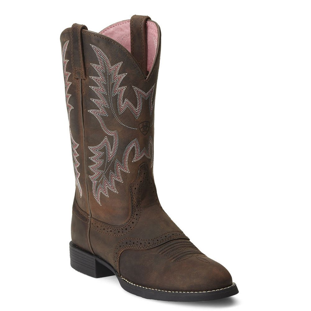 Ariat Women's Heritage Stockman Western Boot B004CTLNGA 11 C US|Driftwood Brown/Driftwood Brown
