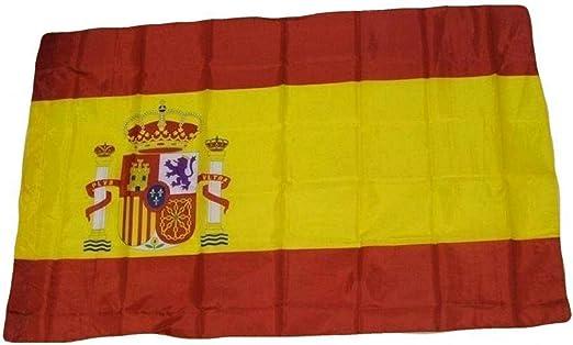 R&F srls - Bandera de España (60 x 90 cm, Tejido Nacional): Amazon.es: Jardín