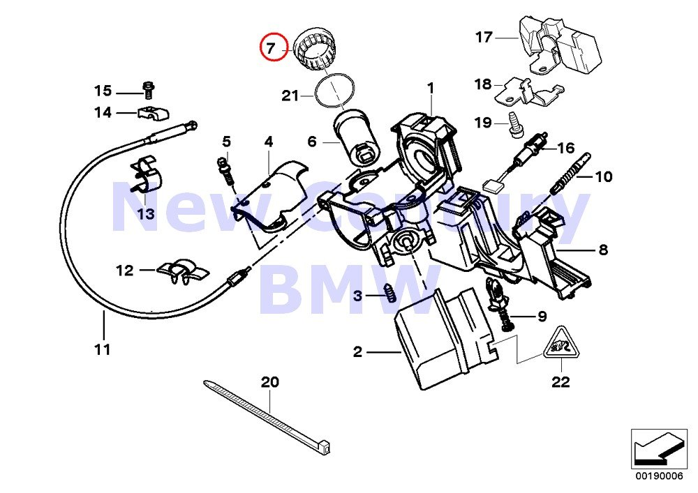 Amazon Com Bmw Genuine Ring Antenna Ews Iii 740i 740il 740ilp 750il