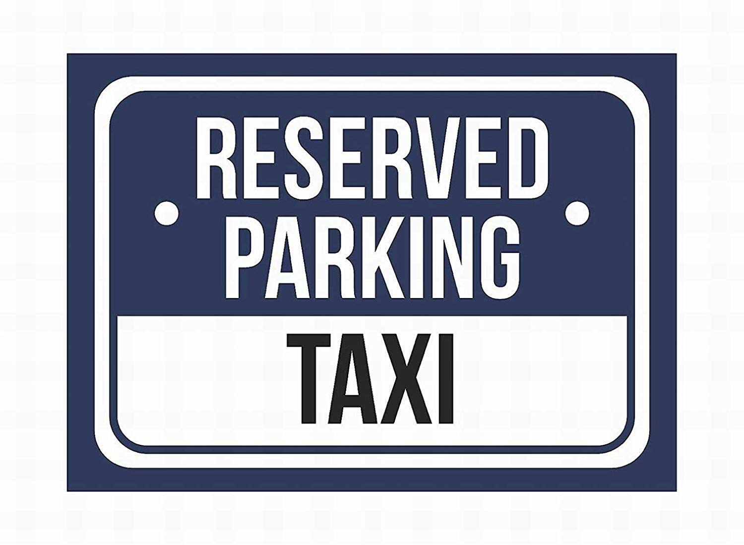 HALEY GAINES Reserved Parking Taxi Placa Cartel Póster de ...